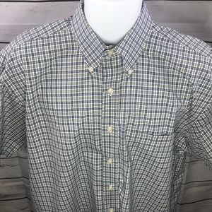 Men's Jos. A. Bank Short Sleeve Large Shirt